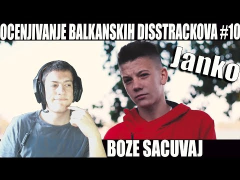 OCENJIVANJE BALKANSKIH DISSTRACKOVA - Janko - 8rasta9 / Sneezy DissTrack (Official Music Video)