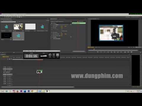 Học dựng phim -Tạo đường viền( boder) cho video trong Adobe Premiere