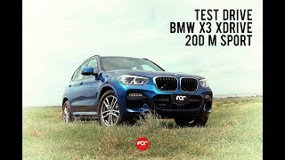 FOC DRIVE | รีวิว New BMW X3 Xdrive20d M Sport