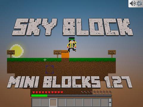 Sky Blocks No Mine Blocks 1.27