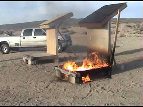 TimberSIL Deck Fire Test