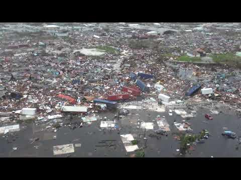 Hurricane Dorian: Mind-Boggling Devastation Seen From Aerials Above Abaco, Bahamas