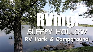 Our First RV Adventure - Sleepy Hollow RV Park, Oxford, Iowa - BEAUTIFUL!