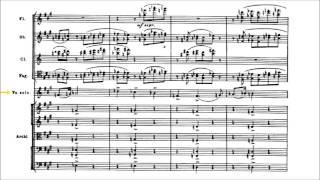 Dmitri Shostakovich - Cello Concerto No. 1 [With score]