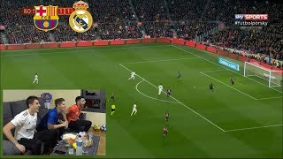 BARCELONA 1-1 REAL MADRID (REACCIONANDO) COPA DEL REY 2019