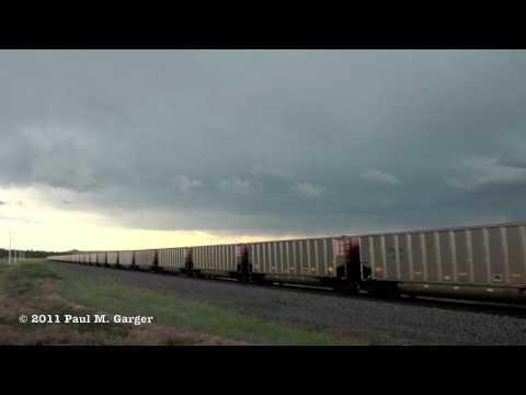 BNSF - Western South Dakota Approaching Storm