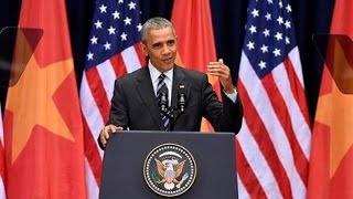 VN cắt xén, xuyên tạc diễn văn của TT Obama đọc tại VN
