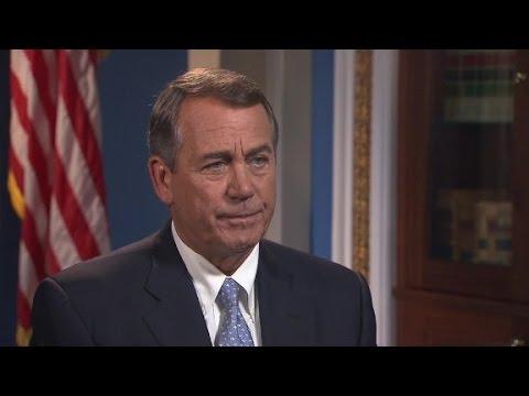 Speaker John Boehner on State of the Union: Full Interview