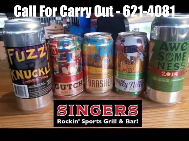 Singers Grill & Bar - Commercial #2 - Food & Lower Drink Prices
