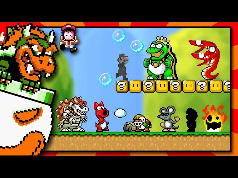 What If Super Mario World Had New Boss Fights?!  
