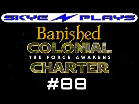 Banished Colonial Charter 1.6 #88 ►Fortifying The Island!◀ Let's Play/Gameplay