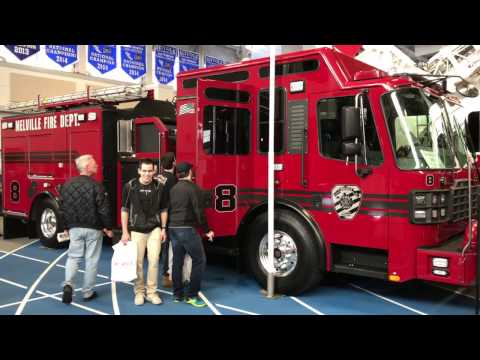 WALK AROUND OF THE MELVILLE FIRE DISTRICT ENGINE 8 AT THE FIRE, RESCUE & EMS MEGA SHOW 2017.