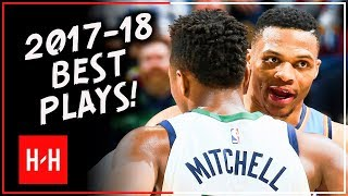 Oklahoma City Thunder vs Utah Jazz BEST Highlights from 2017-18 NBA Regular Season!