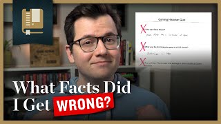 What Facts Did I Get Wrong? | Gaming Historian