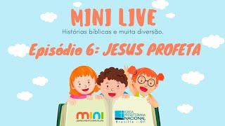 MINI LIVE IPNONLINE Episódio 6: Jesus Profeta (Lic. Davi Medeiros) - 21/04/2020