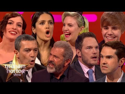 CELEBRITIES ATTEMPTING BRITISH ACCENTS on The Graham Norton