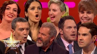CELEBRITIES ATTEMPTING BRITISH ACCENTS on The Graham Norton Show Video