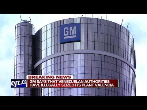 GM says plant in Venezuela has been taken over