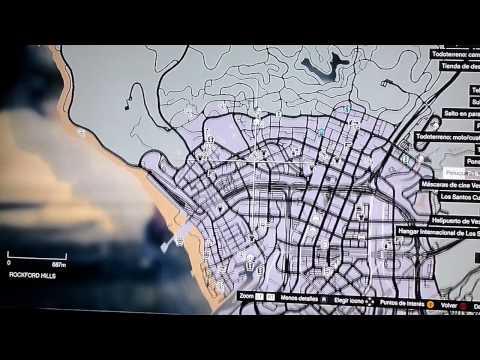 Grand Theft Auto 5 - LUGARES SECRETOS, ESCONDIDOS. Español Volando Debajo De Los Santos Parte 1.