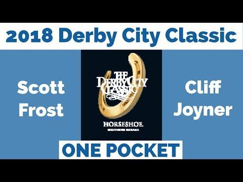 Scott Frost vs Cliff Joyner - One Pocket - 2018 Derby City Classic