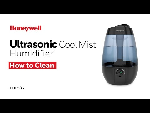 Honeywell Ultrasonic Cool Mist Humidifier HUL535 - How to Clean