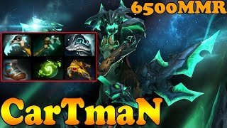 Dota 2 - CarTmaN 6500 MMR  Plays Outworld Devourer Vol 1# - Ranked Match Gameplay!