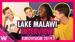 Lake Malawi (Czech Republic) interview @ Eurovision 2019 second rehearsal