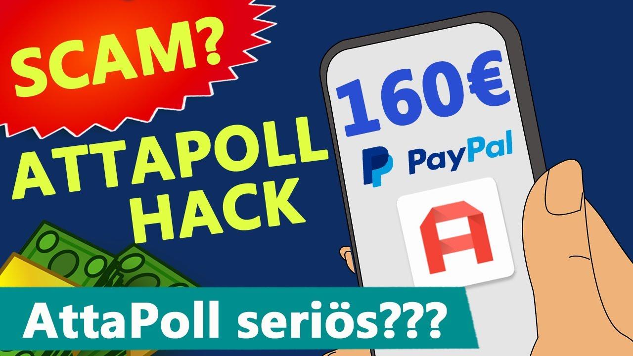 ATTAPOLL HACK (DEUTSCH) 💰160€ mit Umfragen? AttaPoll seriös oder SCAM?