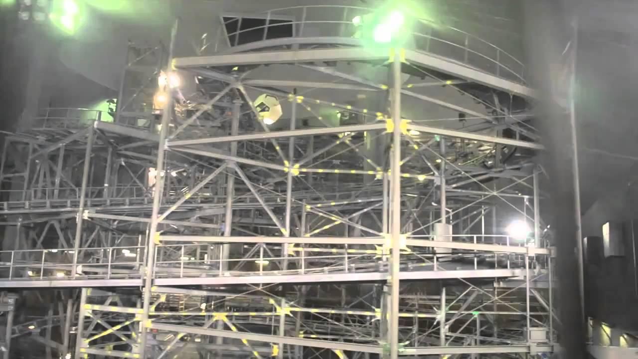 Lights-on look at Space Mountain at Magic Kingdom at Walt ...