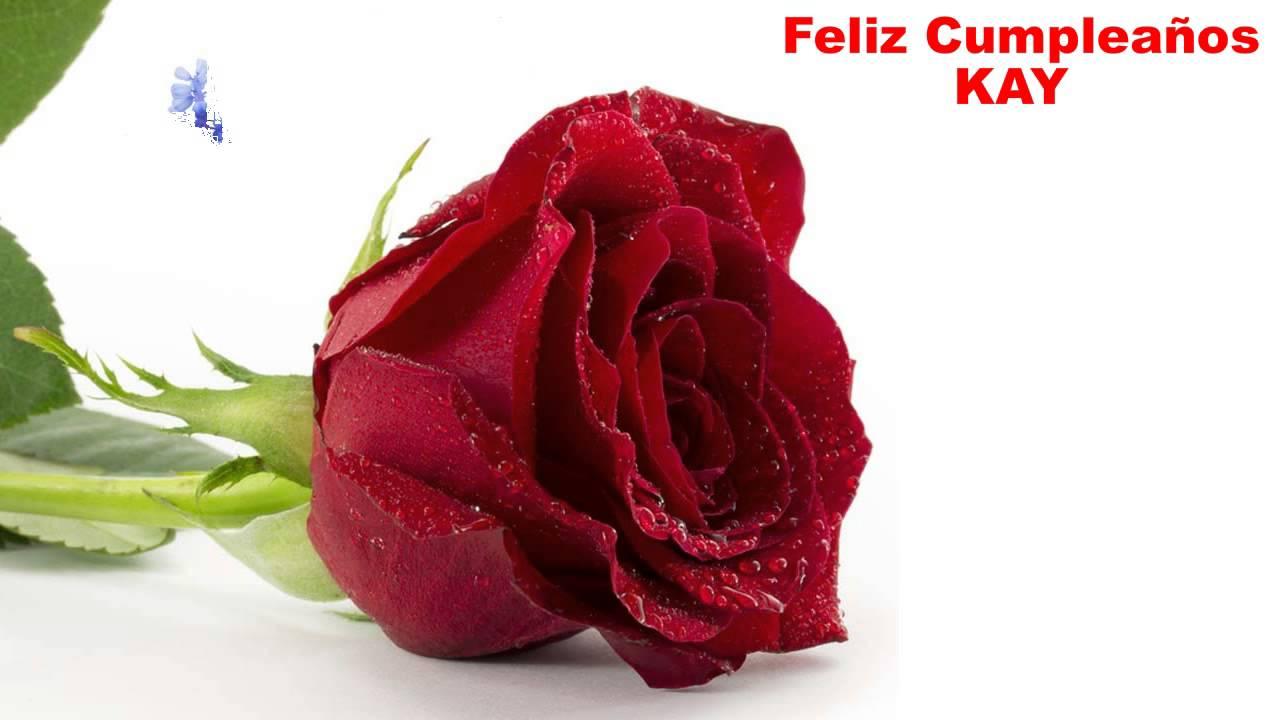 Kay flowers happy birthday youtube izmirmasajfo