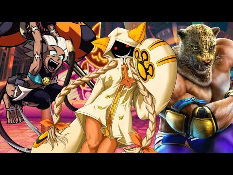 "Top Ten ""Cats"" in Fighting Games"