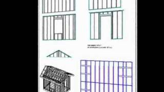 Complete 10' X 12' Storage Shed Plan