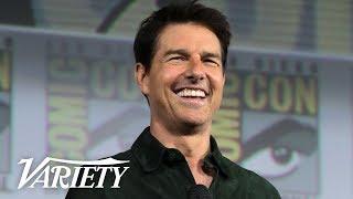 Tom Cruise Surprises Comic-Con with 'Top Gun: Maverick' Footage