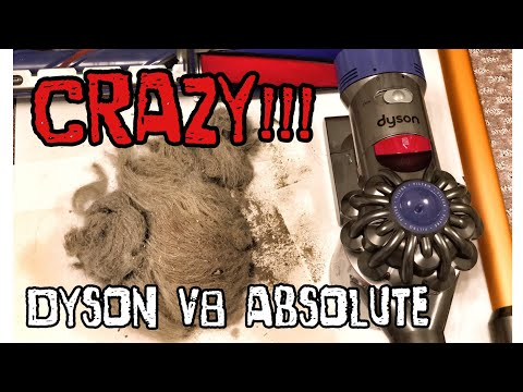 [4K] Dyson V8 Absolute vs Roomba, CRAZY RESULTS! MUST SEE!!