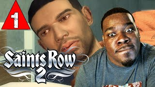 Saints Row 2 Gameplay Walkthrough Part 1 - Creating Drake - Lets Play Saints Row 2