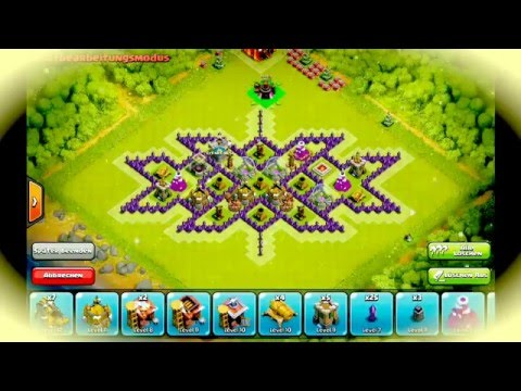 Base Th 8 Terbaik 2016 Pola Xxx Farming Base 2016 Youtube