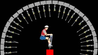 IMPOSSIBLE HARPOON LEVEL! (Happy Wheels #33)