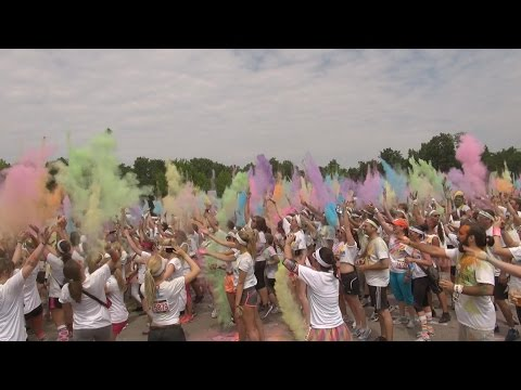 The Color Run Stuttgart 2014
