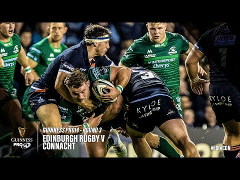 Guinness PRO14 Round 3 Highlights: Edinburgh Rugby v Connacht Rugby