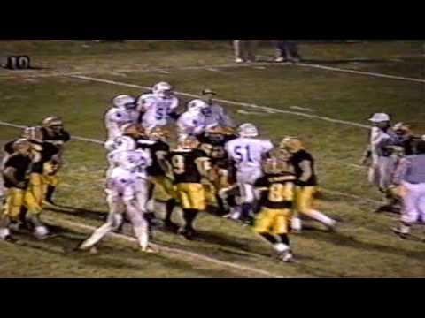 West Lyon Wildcat Football vs Emmetsburg 11-3-1999