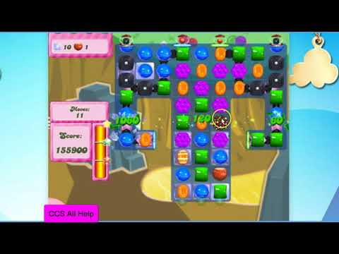 Candy Crush Saga Level 2851 NO BOOSTERS Cookie