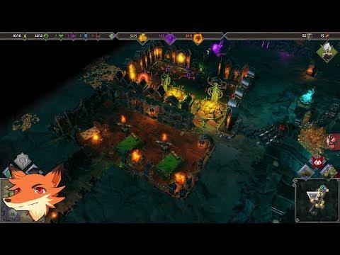 DUNGEONS 3 - Un gameplay à la Dungeon Keeper où on contrôle ses armées à la surface et au sous-sol!