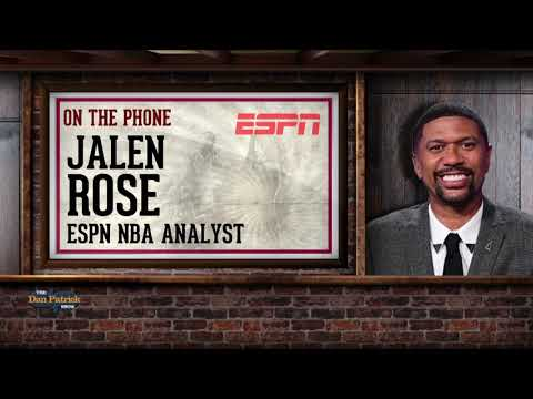 ESPN's Jalen Rose Talks Harden, Curry, Kyrie & More w/Dan Patrick | Full Interview | 1/17/19