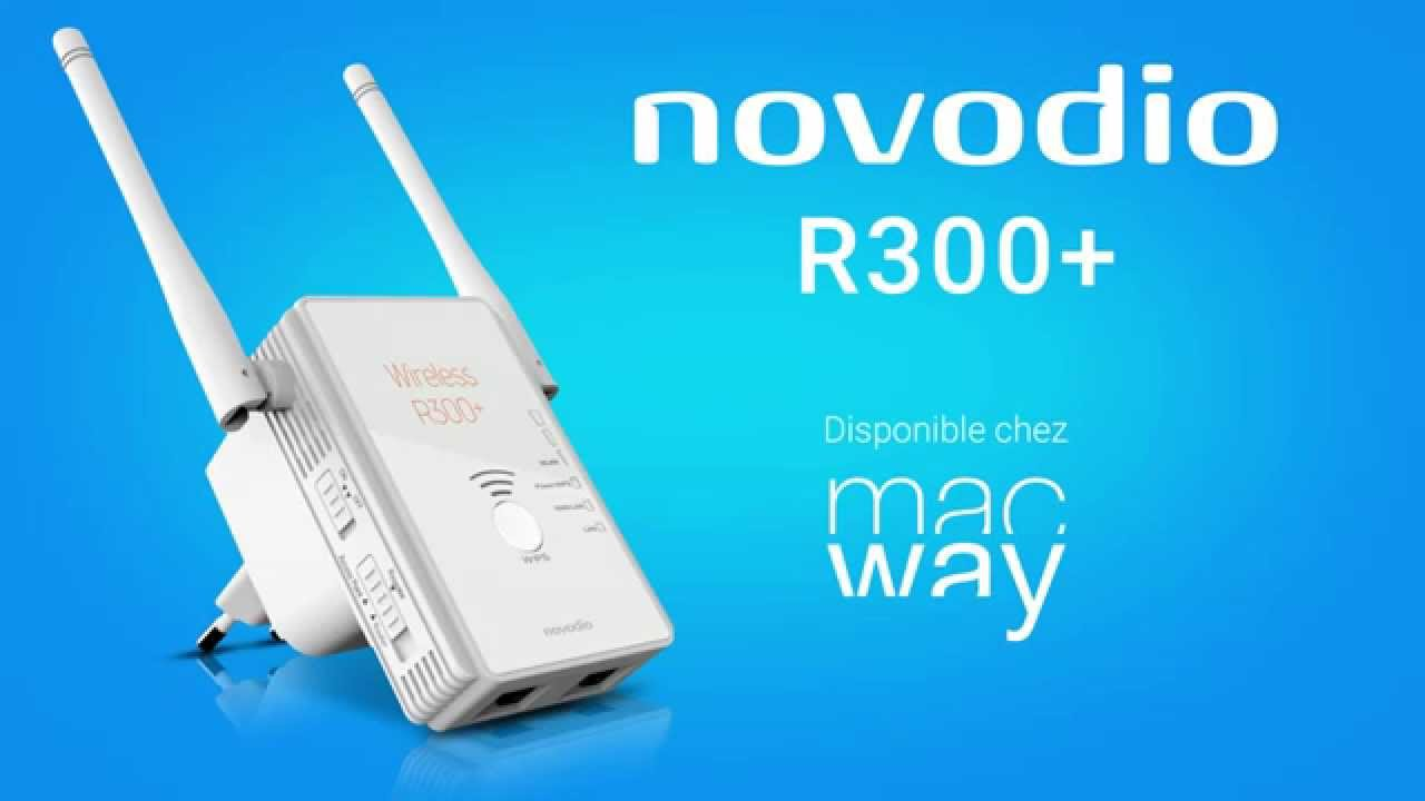 Novodio wireless r300 pr sentation d un r p teur wi fi - Repeteur wifi free ...