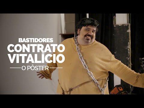 BASTIDORES – CONTRATO VITALÍCIO: O PÔSTER