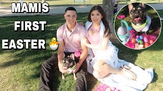 EASTER SPECIAL | VLOG (mamis first basket!)