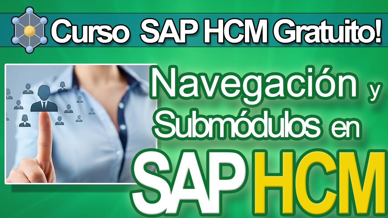Sap Hcm Curso Gratuito Tutorial Navegación Y Sub Modulos Hr Cvosoft Com
