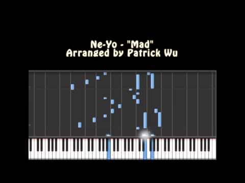 Music Notes for Mad  NeYo