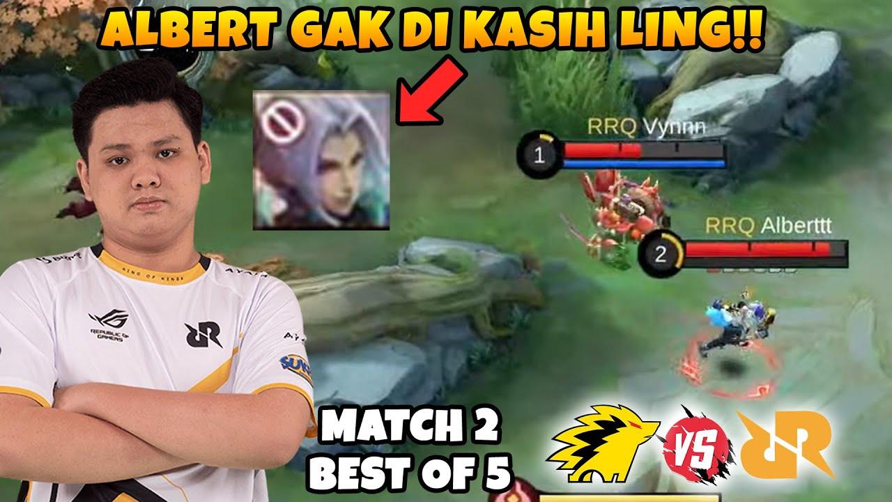 Download INI BENER2 ALBERT GA DI KASI LING COY?????? RRQ VS ONIC MATCH 2