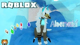 ROBLOX ABENAKI New RAPTOR WOLF Design, HOW TO GET CRYSTALS + My Sad Roleplay Story